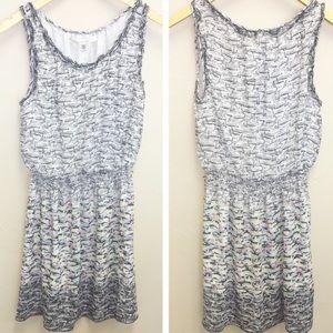 Studio M Sailboat Print Casual Tank Dress